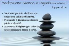 meditazione silenzio digiuno 10 nov 2018