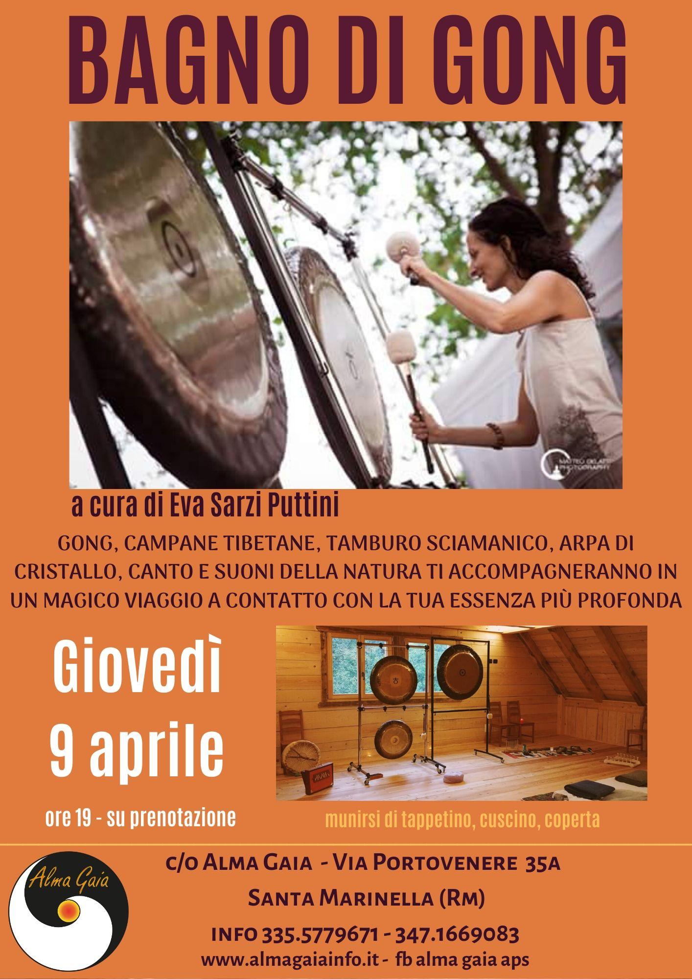 BAGNO DI GONG, Giovedì 9 aprile 2020