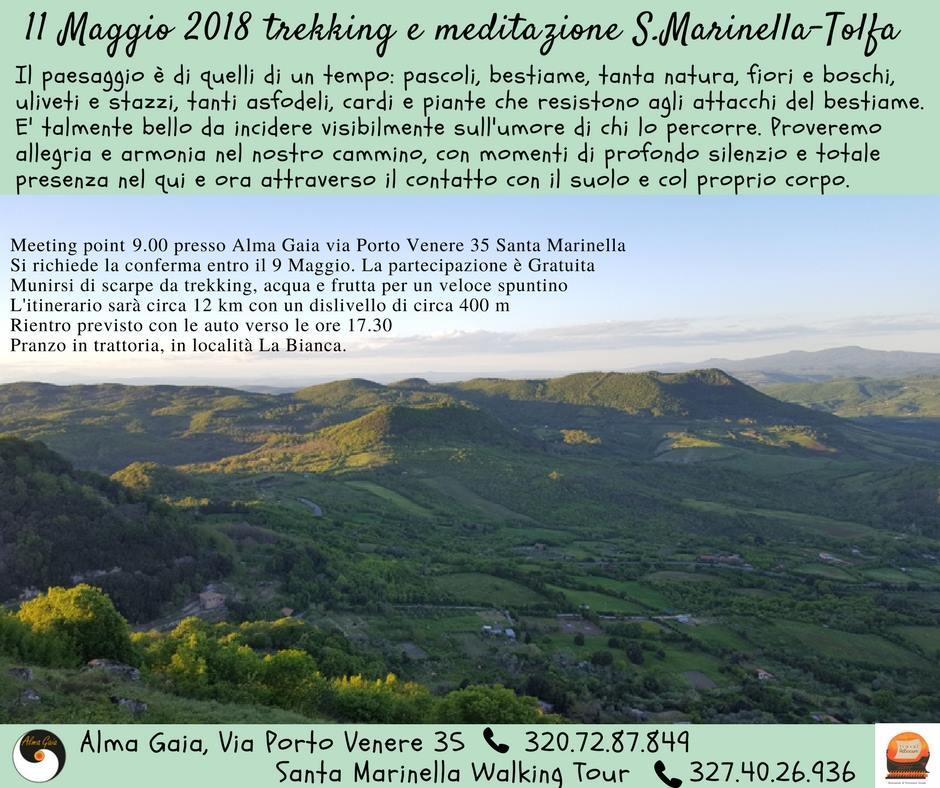 escursione Tolfa 11 maggio